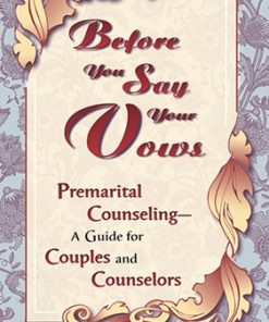 Before You Say Your Vows