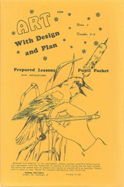 Art With Design and Plan, Grades 5-8, first year-0