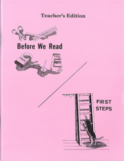 Before We Read and First Steps - Teacher's Manual