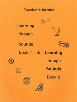 Learning Through Sounds Books 1 and 2 Teacher's Manual