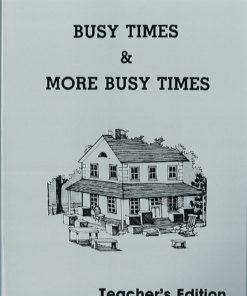 Busy Times and More Busy Times Workbooks - Teacher's Manual