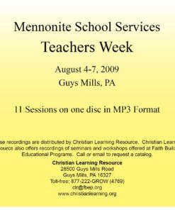Teachers Week 2009 MP3 Set