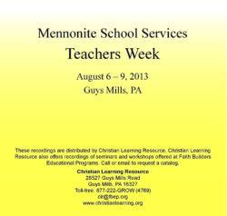 Teachers Week 2013: Split Sessions and Workshops (MP3 Download)-0