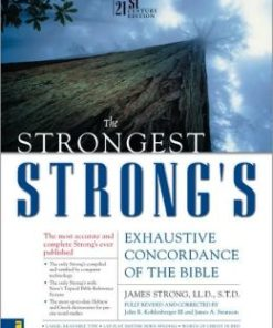 Strongest Strongs Exhaustive Concordance KJV