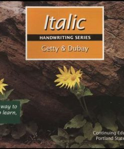 Getty-Dubay Italic Handwriting Series Book A-0