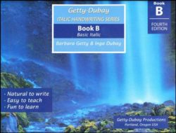 Getty-Dubay Italic Handwriting Series Book B-0