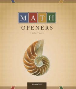 Math Openers-0